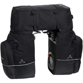 VAUDE Karakorum Pannier Set 3 Pieces, black uni
